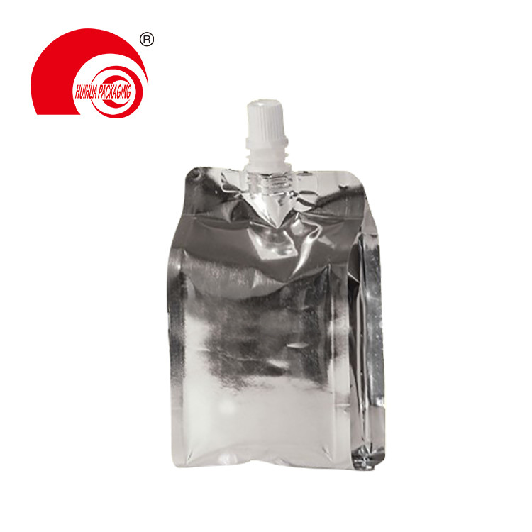 product-Various Colors Food Grade Energy Drinking Spout Pouch with Middle Nozzle for Daily Chemicals-1