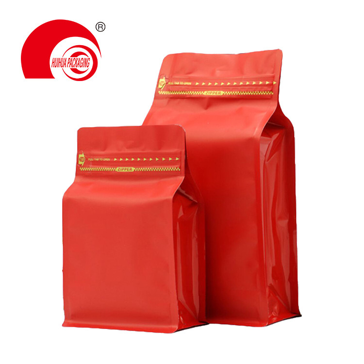 product-Food Grade High Barrier Packaging Bag Dry Fruit Zip Lock Flat Box Bottom Pouch-Huihua-img-1
