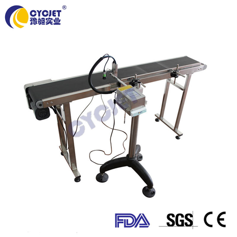 CYCJET Continuous Inkjet Printer/Automatic Batch Code Printing Machine/Industrial Inkjet Printer Used