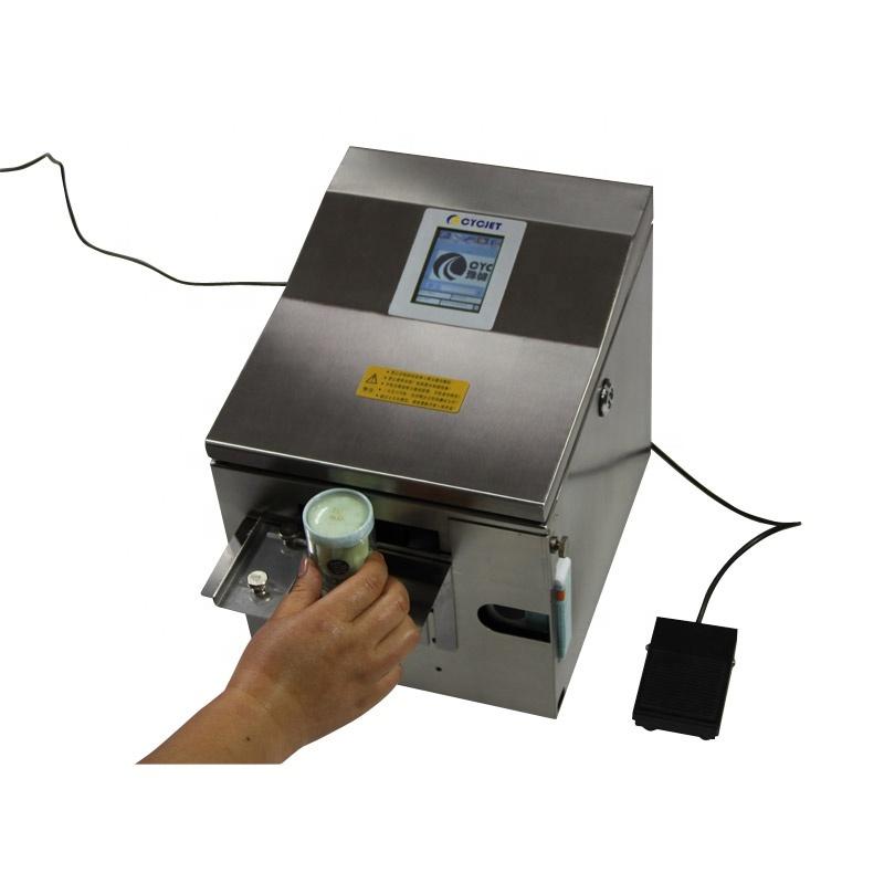 CYCJET ALT390 Desktop inkjet printer for cans printing