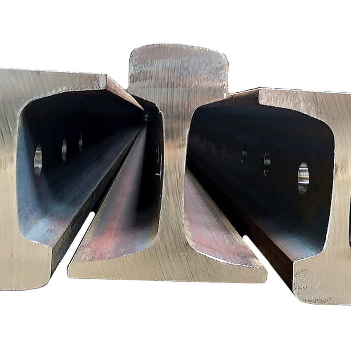 International standard rail steel products as UIC54/UIC60/49E1/50E2/TR45/TR50/TR57/TR68/BS75A/BS90A/BS100A etc