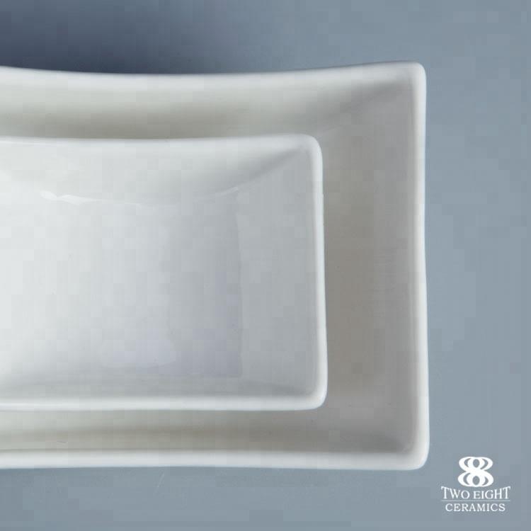 Ceramic manufacturer white china porcelain serving sauce dishes