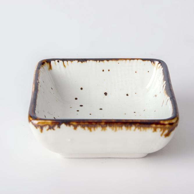 Wholesale Price Ceramic Restaurant Dishes, Wedding Serving Square Shaped Dishes/