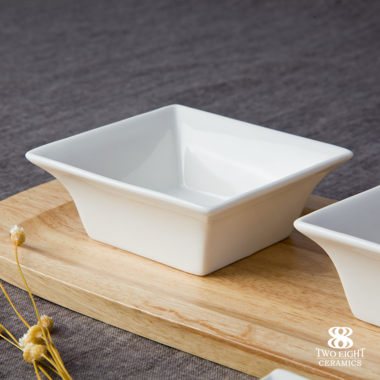 Wholesale ceramic bisque kitchen ware, royal fine porcelain snack bowl