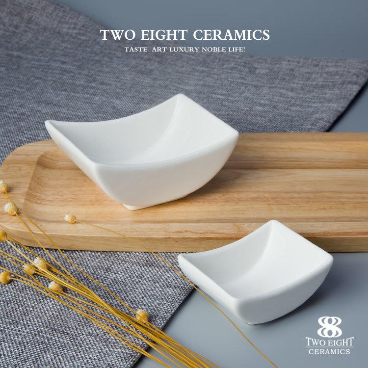 Chaozhou Ceramics Factory Restaurant Use China Porcelain Sauce Dish, Restaurant Hotel Supplies Soy Sauce Dish*