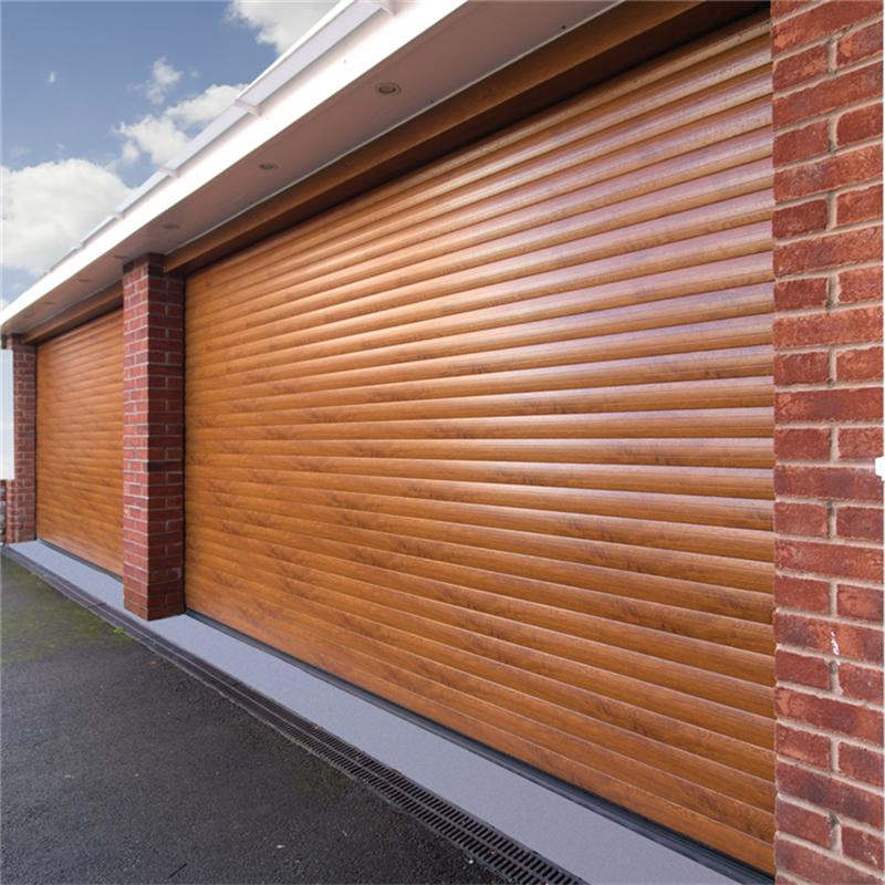 Hot sale Aluminum Roller Shutter Doors Garage Door For Double shutter