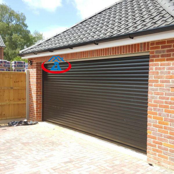 Black Modern Aluminium Roller Shutter DoorFor Home or Commercial