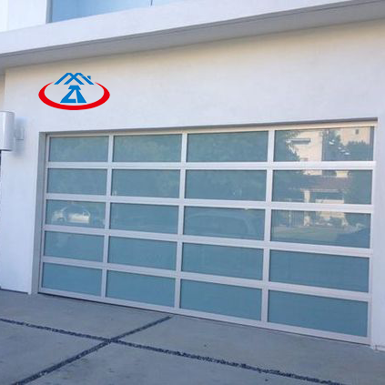 9x8 Hight quality insulated glass sectional garage door