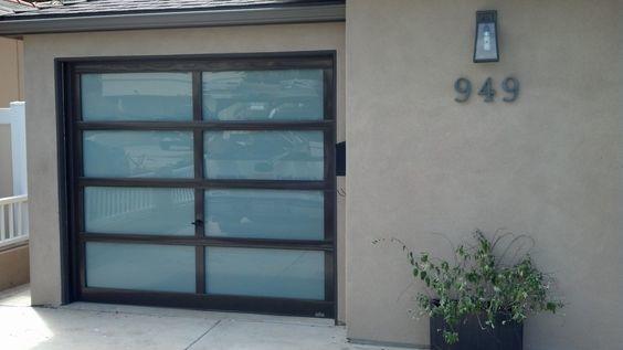 9x8 Hight quality horizontal aluminum glass sectional garage door