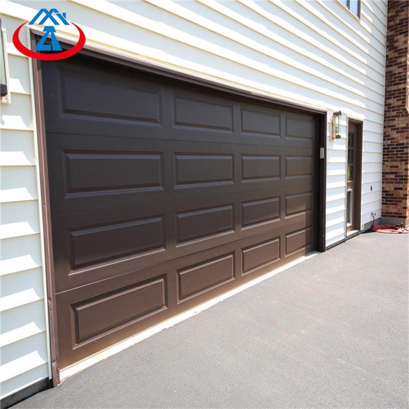 9*7 Feet Energy Efficient Industrial Sectional Horizontal sliding Garage door