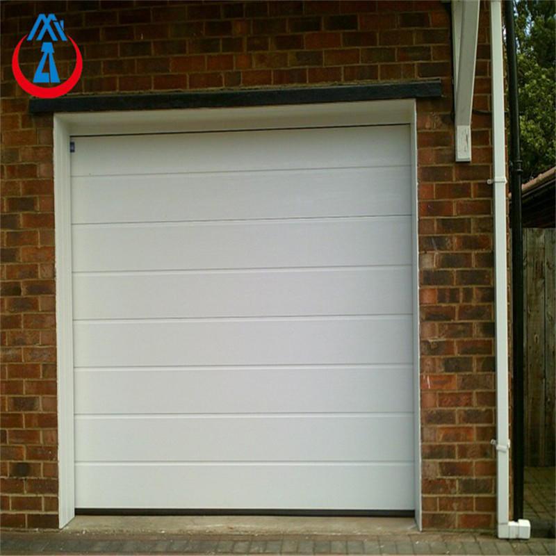 9*8 Feet White Color Aluminum Panels Residential Garage Door