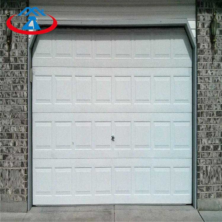 9W*7HExcellent Quality Vertical Insulated Aluminum Overhead Sectional Garage Door With Motor