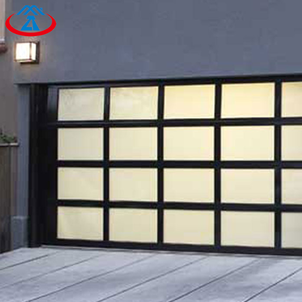 Aluminium Glass Garage door for Home