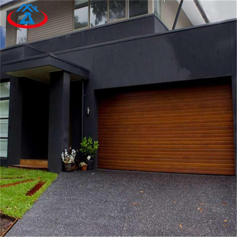 Finished Surface Finishing Skin Garage Door Panel Rolling Aluminium Shutter Door