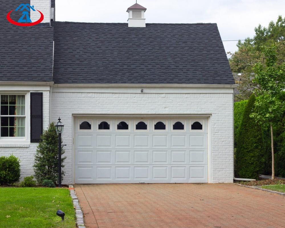 Affordable price aluminum single panel custom color garage door from China