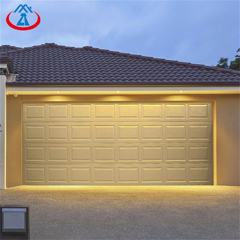 Modern Garage Gate Automatic Sectional Garage Roller shutter Door With PU