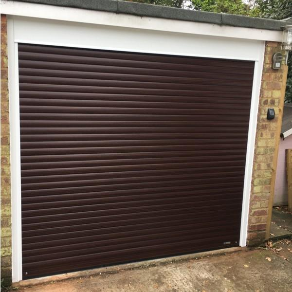 High-grade Remote control aluminum and PU thermal insulate garage doors