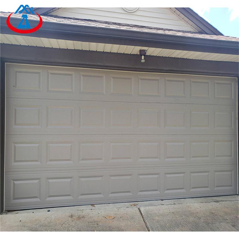 8*7 Manual Open Style and Finished Surface Finishing Aluminum garage door