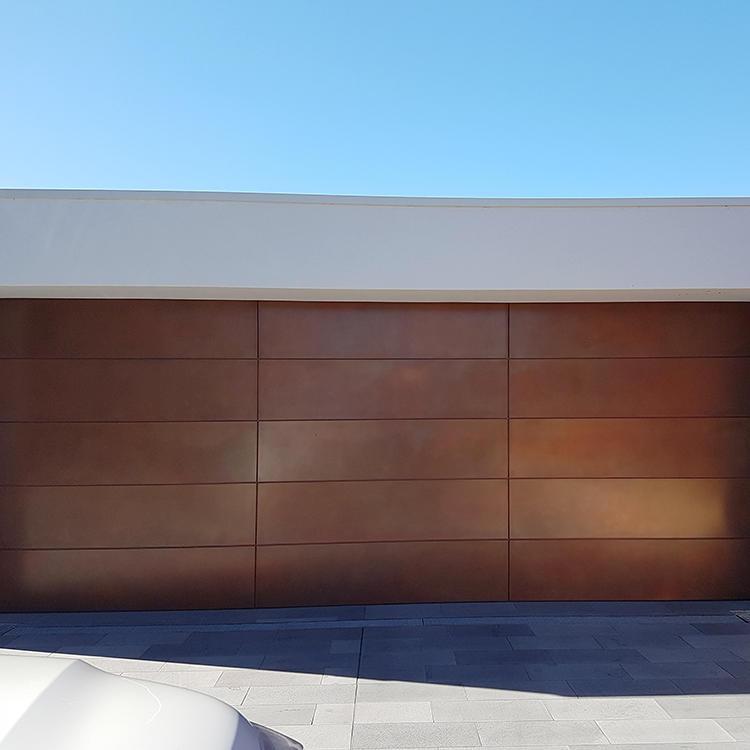 9*8 Feet Aluminum Garage Door For Ready To Ship