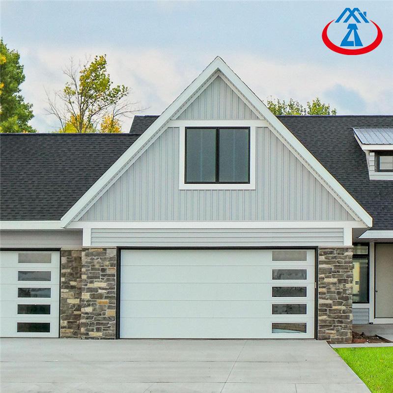 8*7 Feet Vertical Opening Pattern roll up Garage Door For home