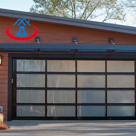 Hot Sale Residential Security Glass Garage Door Lifting Garage Door