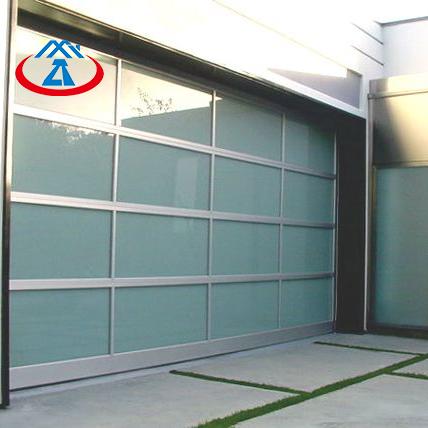 9x8 Aluminum Glass Panel Garage Door
