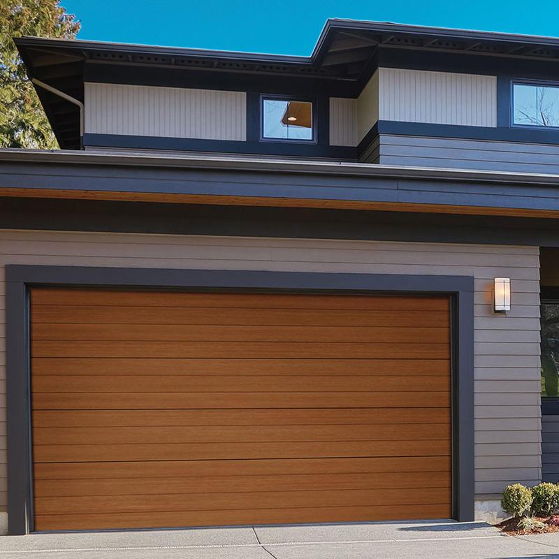 Electric Roll up Double Layer Slat Aluminum Garage Roller Door