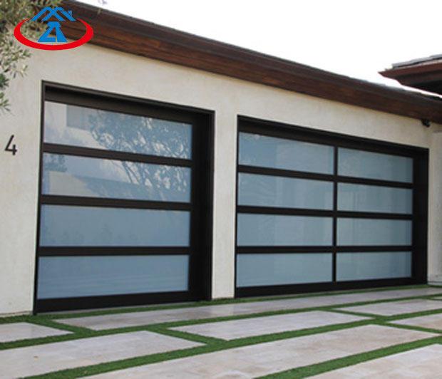 96*108 Inches Automatic Opening Aluminum Garage Door Garage Gate
