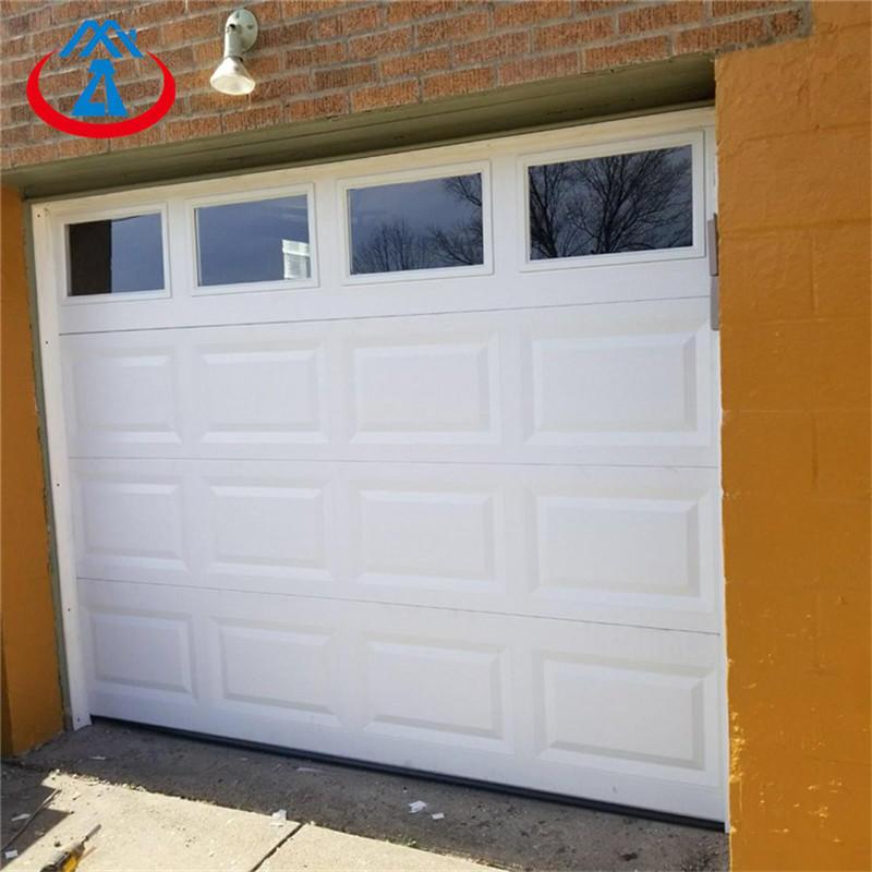Cheap Price 9*8 Used Garage Aluminum Door With PU inside