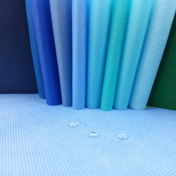 40gsm,50gsm,60gsm width 210cm high guality sms nonwoven fabric