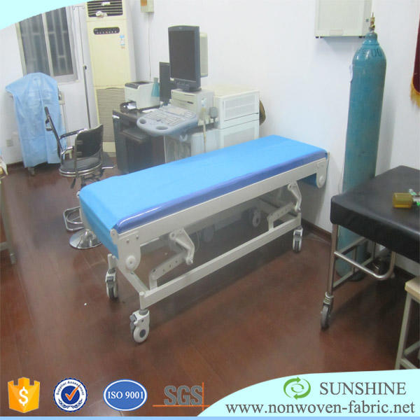 Polypropylene spunbond nonwoven medical uniform, medical shoes, medical lab coat