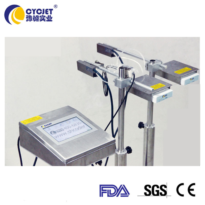 CYCJET Automatic Carton Inkjet Printer/Large Format Inkjet Printer/High Resolution Industrial Inkjet Printer