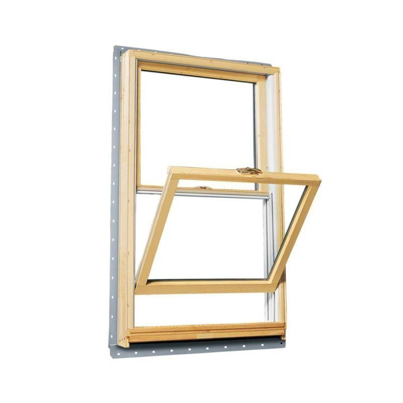 wood grain vinyl double hung windows aluminum windows for sale