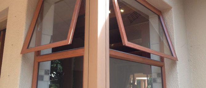 Top Aluminium Frame Single Hung Glass Window For Home