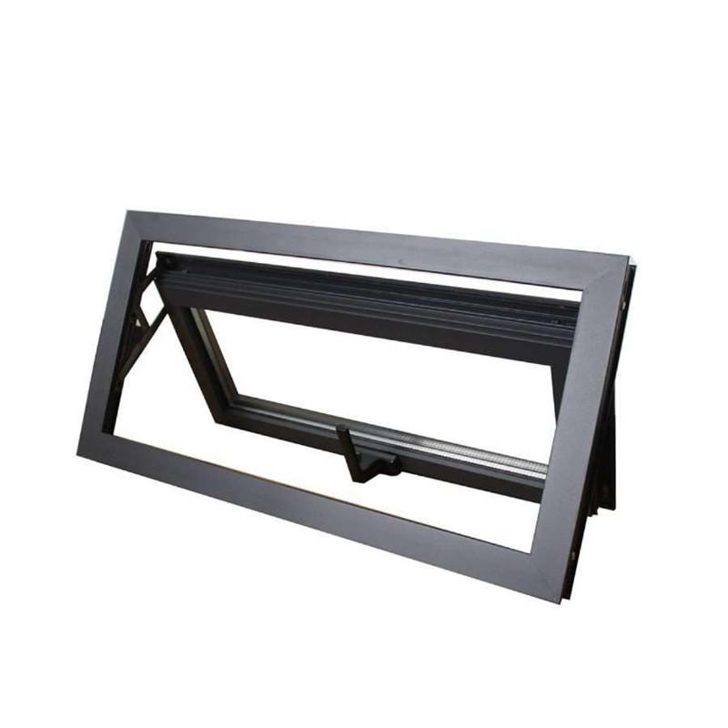 900*900mm Single glazed Top hung Aluminum Profile Awning Glass window