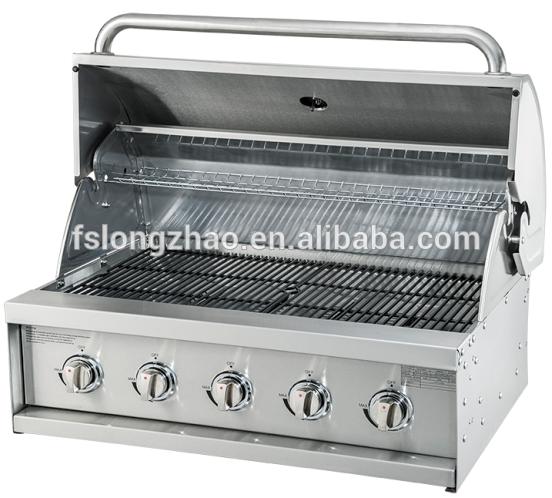 HSQ-A314S 4 Burner stainless steel big outdoor kitchen gas bbq grill