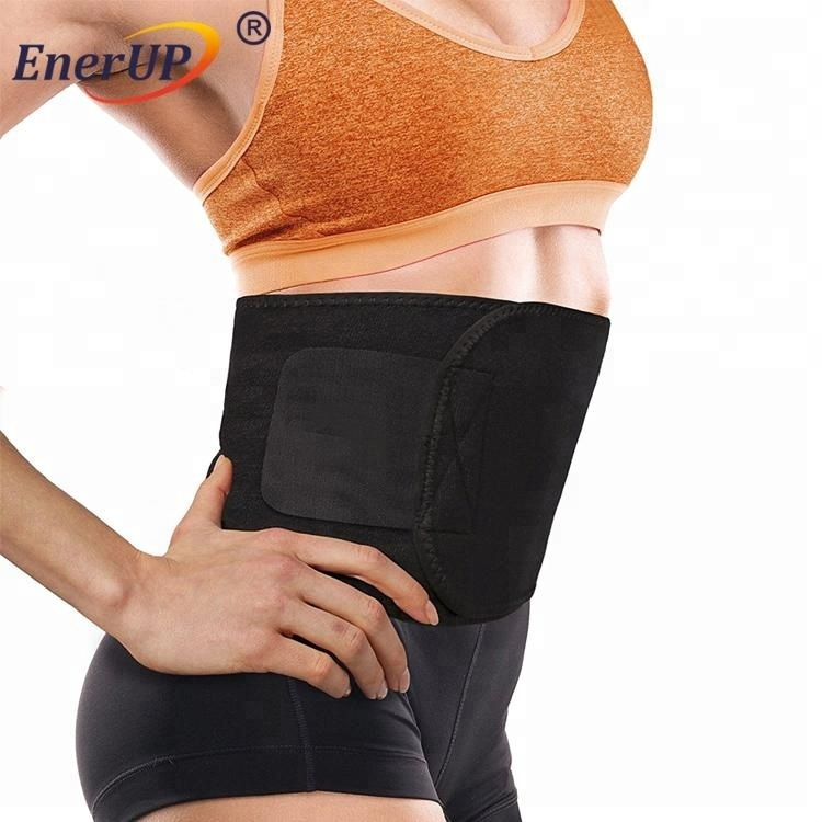 Copper infused adjustable pain Relief Compression Lumbar Recovery Back Waist Belt support brace for unisex