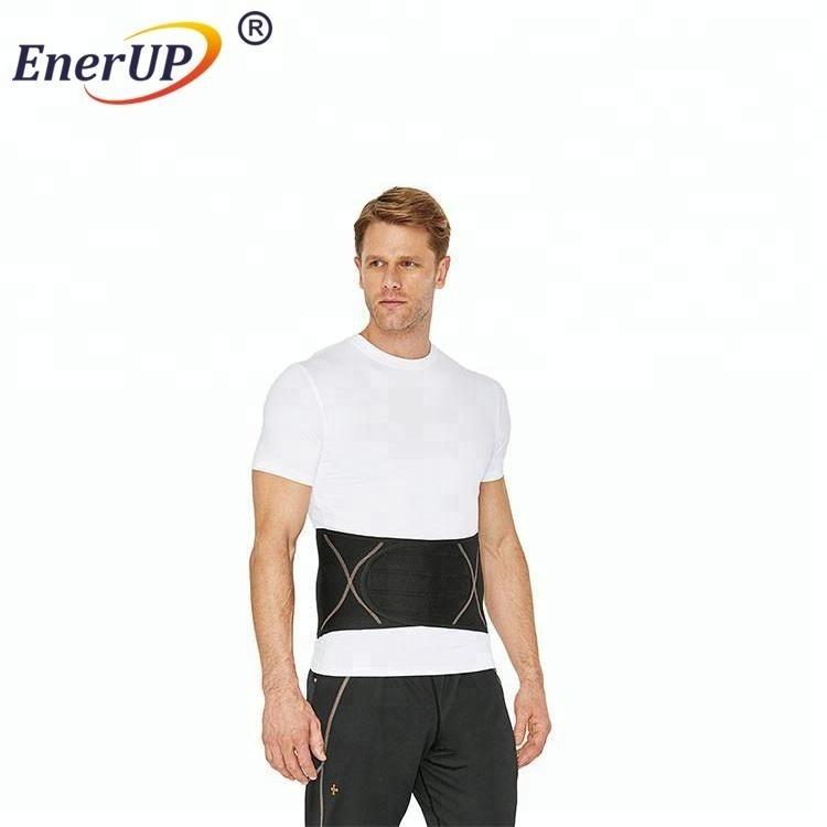Breathable neoprene elastic copper shapewear waist support band belt for women trimming