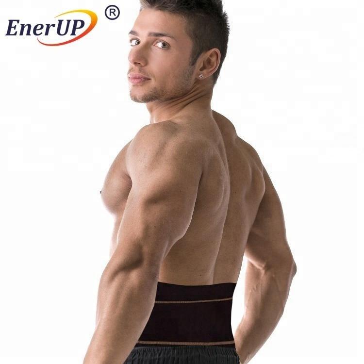 Adjustable copper compression waist belt for waist support