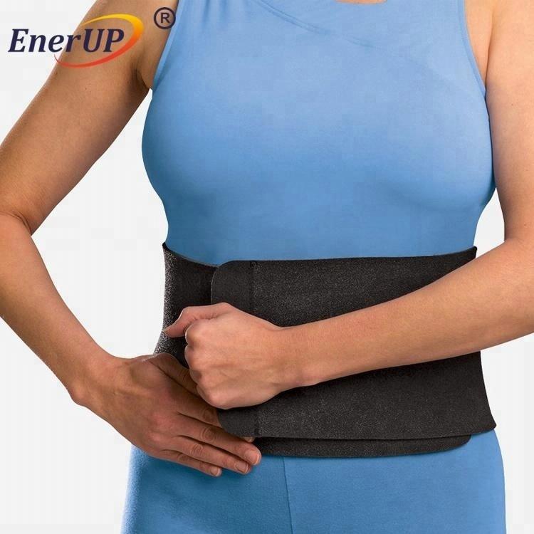 Copper lumbar back waist support