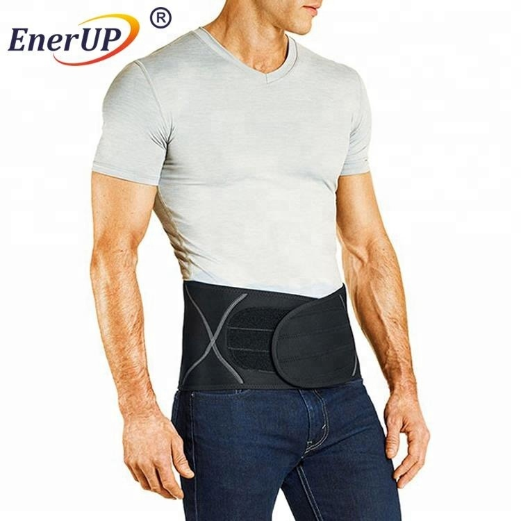 High quality abdominal lower copper waist wrap back support belt for men pain relief