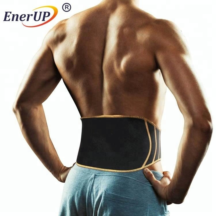 breathable elastic back support belt for weightlifting fitness