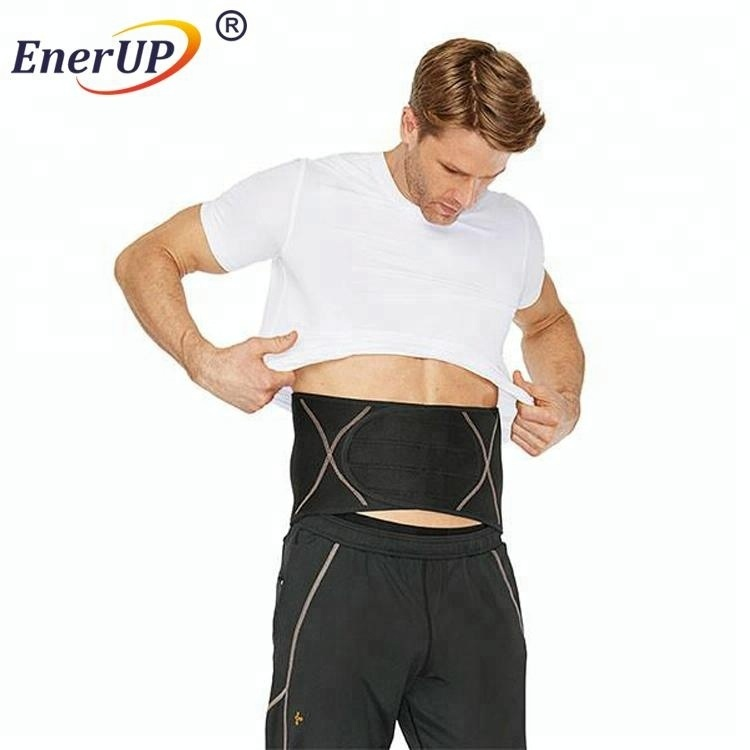 Hot sell Adjustable Lumbar Copper Compression Waist Back Brace Support