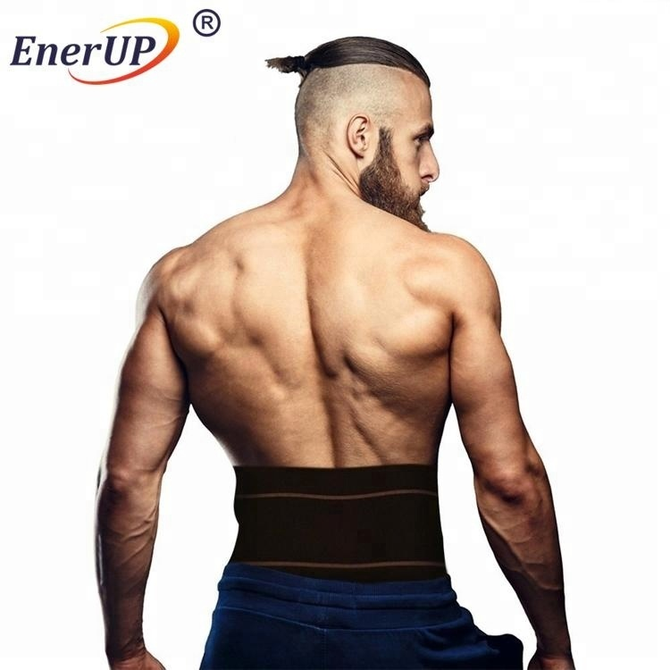 Copper Compression Lower Back Lumbar Support Recovery Brace For Pain Relieve Soreness