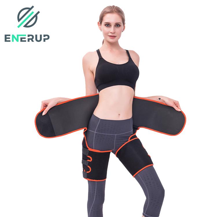 Enerup Wholesale Custom High-Waist Trainer Support Belt Sweat-Absorbent Plastic Belt Adjustable Waist Trimmer Abdomen Leg Belt