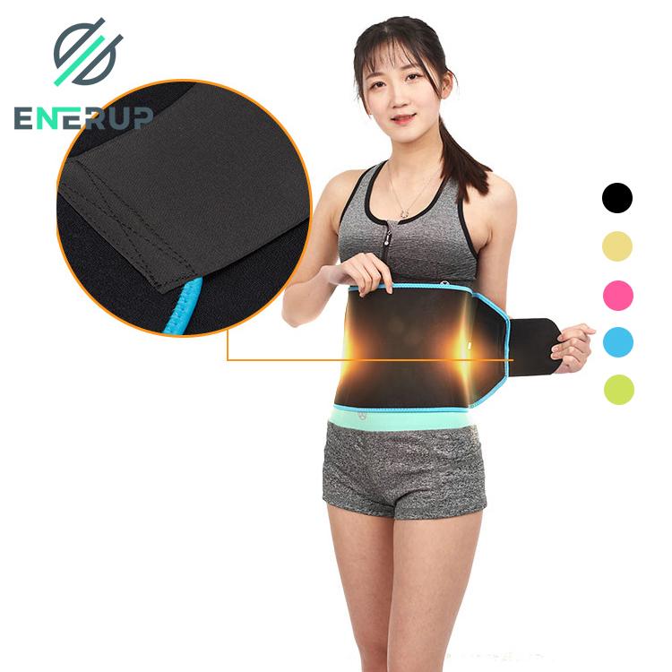 Enerup Wholesale Back Support Brace Body Shaper Slimming Running Belt Private Label Waist Pack Trainer Trimmer