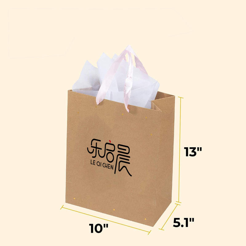 Guangdong Kraft Paper Bag, Jewelry Packaging Gift Paper Shopping Bag,Custom logo