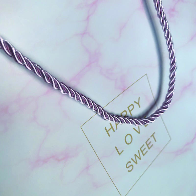 Marble Printed Custom Logo Rose Gold Stamping Big Small Size Paper Bag