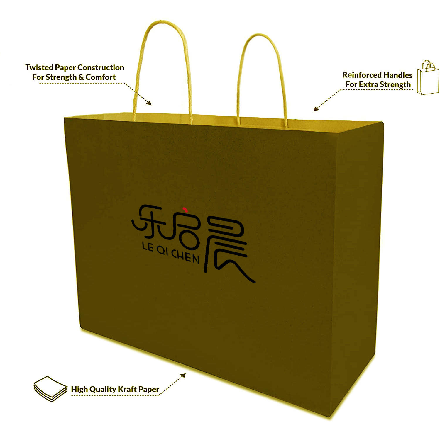 Gift Bags With HAandle, Jewelry Packaging Gift Paper Shopping Bag,Custom logo