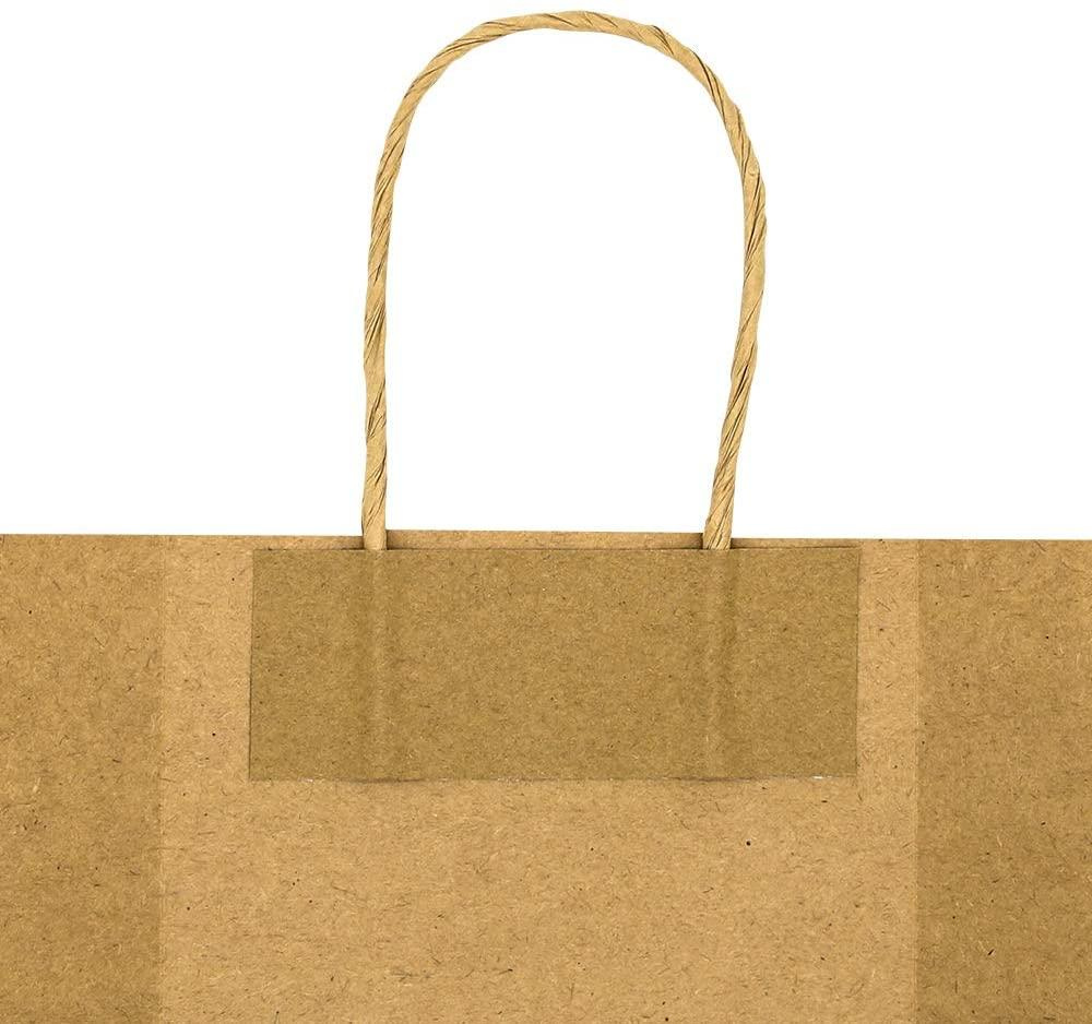 Guangzhou paper bag manufacturers gift promotion personalized custom flat plain paper bags with your own logo